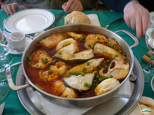 Caldeirada fish stew photo