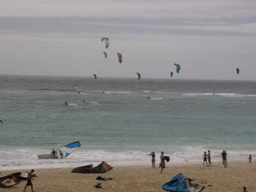 silver coast windsurfing photo